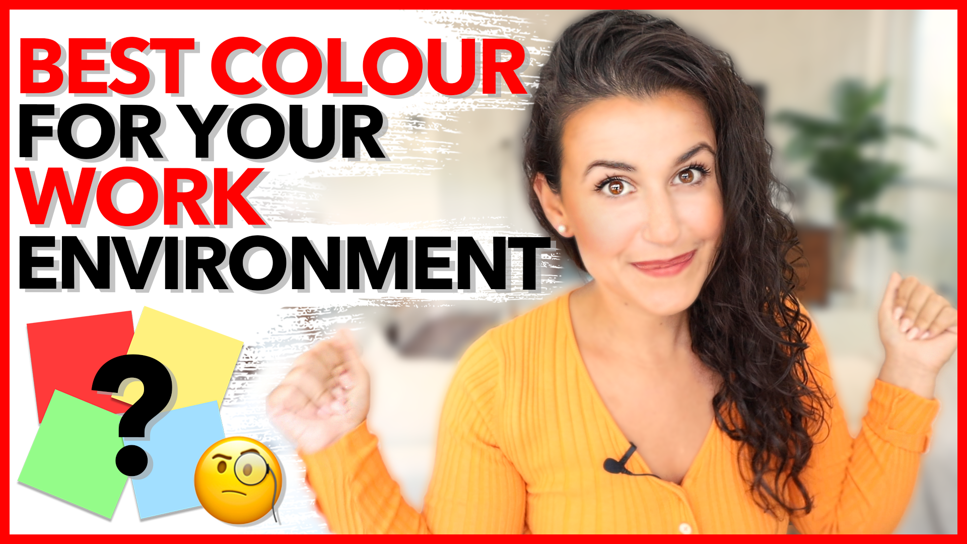 BEST Colour for your Work Environment!